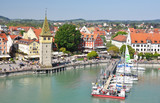 Port of Lindau island, Germany