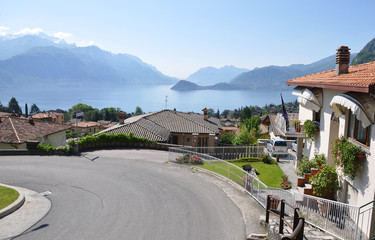 Menaggio town at the famous Italian lake Como
