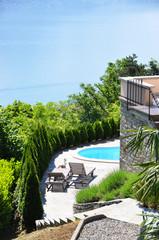 Holiday villa overlook Como lake, Italy