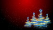 Christmas Trees Background - Merry Christmas