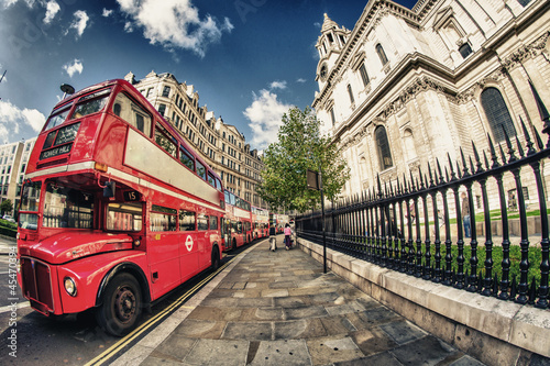 Red Double Decker Bus, symbol of London
