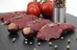 rohes Känguru-Steak