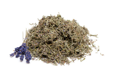 dried lavender leafs
