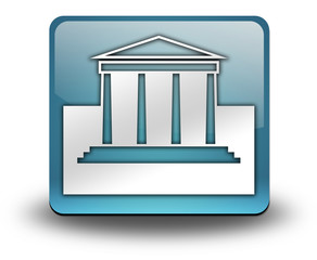 "Light Blue 3D Effect Icon ""Legal / Court"""