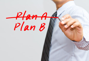 Business plan strategy changing
