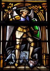 Saint Michael - patron saint of Brussels
