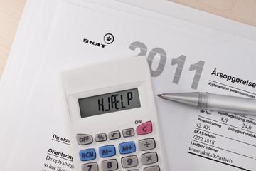 Steuererklärung Dänemark