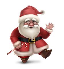 Illustration of Santa Claus