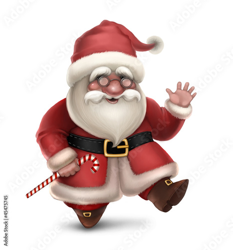 Illustration of Santa Claus
