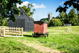 Village scene - Chawton Hampshire UK