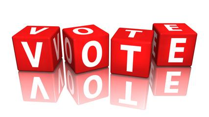 würfel cube vote 3D