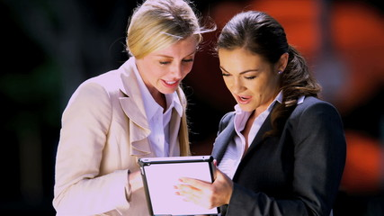 Female business executives