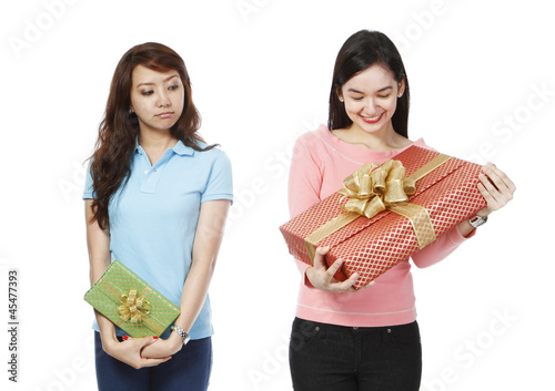 Envious of Bigger Gift