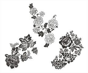 traditional paisley floral designs, Rajasthan, royal India