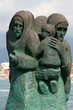 Viareggio, L'attesa. Monument to the sailors family