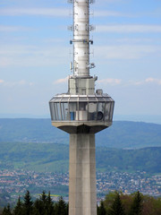 Zurich TV tower