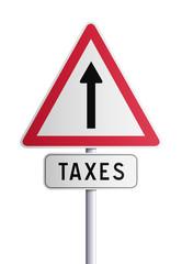 Panneau taxes