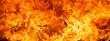 Leinwanddruck Bild - blaze fire flame texture background
