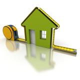 House measuring green