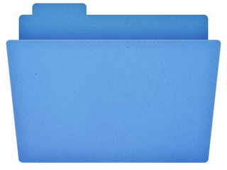 Blue Empty Folder