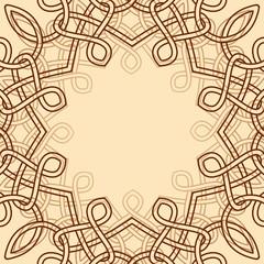 celtic ornamental design element