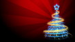 Christmas Tree Background - Merry Christmas
