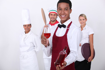 coloured sommelier and co