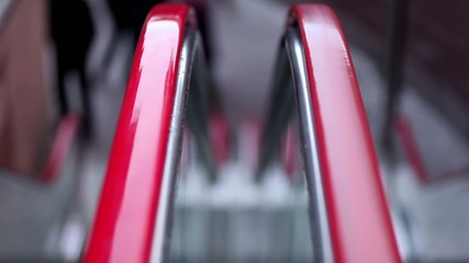 Escalators' handrail .