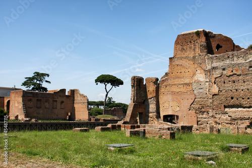 Deurstickers Toscane Palatine Hill in Rome