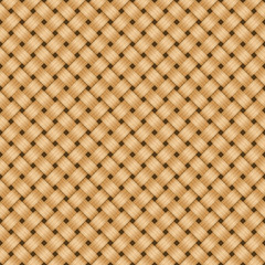 Straw textile background.