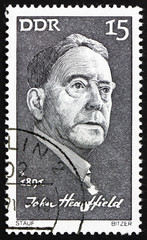 Postage stamp GDR 1971 John Heartfield