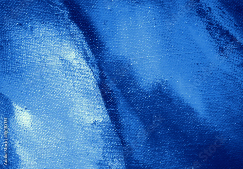 abstract dark blue painting by oil on a canvas,  illustration,