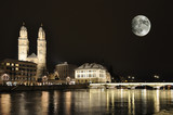 Zurich at night - Fine Art prints
