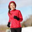 Fitness running woman