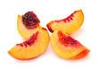 Nectarine peach family fruit
