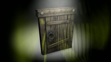 Old Mysterious door.