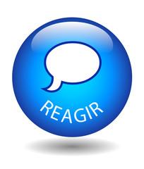 Bouton REAGIR (partager j'aime commentaires réactions opinions)