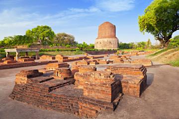 Dhamekh Stupa ruins