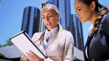 Successful female business executives