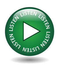 """LISTEN"" Web Button (play music live media player audio now)"
