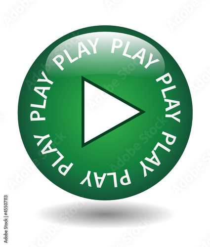 PLAY Web Button (watch video media player listen live music go)