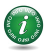 """INFO"" Web Button (information find out more about us ok learn)"