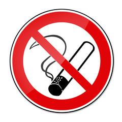 Verbotsschild BGV A8 - Rauchen verboten