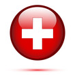 Switzerland flag on button