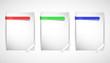 3 cartes RVB concept