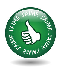 "Bouton ""J'AIME"" (internet web satisfaction forum commentaire)"