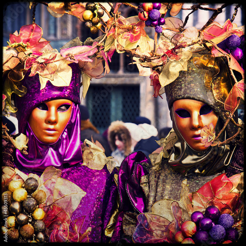 Masks - Carnival of Venice - 45509313
