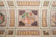 Palazzo Te ancient ceiling, Mantua, Italy.