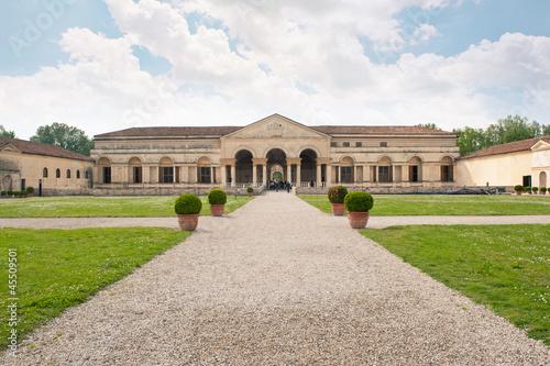Palazzo Te facade, Mantua, Italy.
