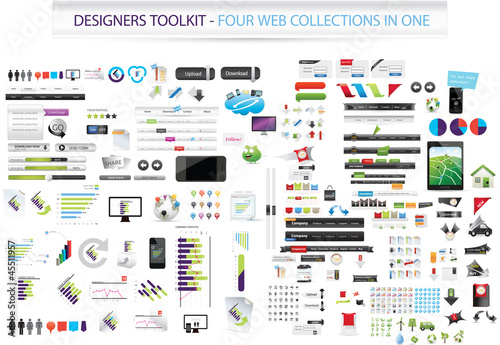 Designers toolkit - Four collections in one
